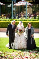 Ceremony wedding photos on the Aria Lawn, Fairmont Grand Del Mar.  San Diego Wedding Photography.