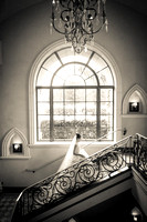 Getting ready wedding photo at the Fairmont Grand Del Mar.