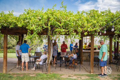 A corporate event for Nationwide at Orfila Winery in Escondido California