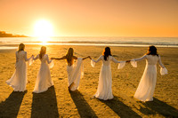 Bohemian Bridesmaids - La Jolla Beach and Tennis Club